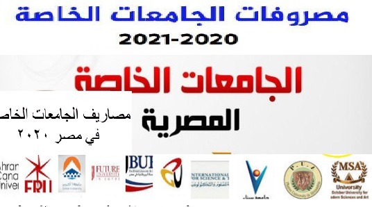 """""""هنا"""" مصروفات الجامعات الخاصة كلية الهندسة 2020/2021"""